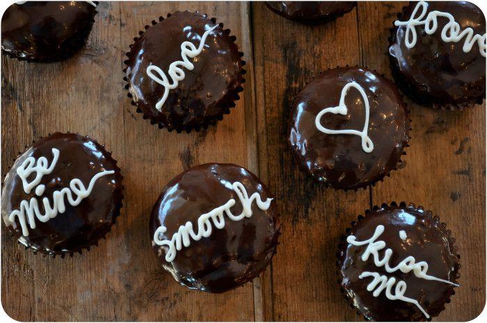Valentine Love Letter Cupcakes   Recipe