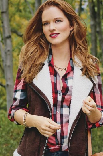 Sarah Drew wears VL on Fit Pregnancy cover – Vanessa Lianne Jewelry