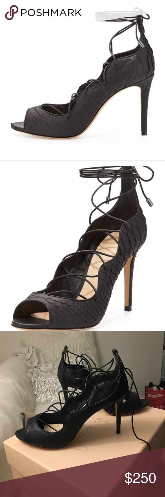 Black sandals 2 inch heel