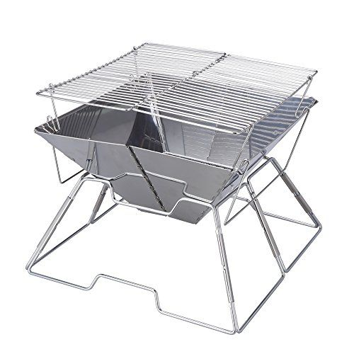 Magicook Portable BBQ Grill Charcoal Grill Stainless Steel Folding Grills for Outdoor Camp Garden Barbeque For Sale https://bestelectricsmokerreviews.info/magicook-portable-bbq-grill-charcoal-grill-stainless-steel-folding-grills-for-outdoor-camp-garden-barbeque-for-sale/