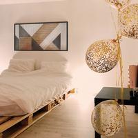 Modern- Geometric Wood Wall Art- Vertical Wood Wall Art Panel