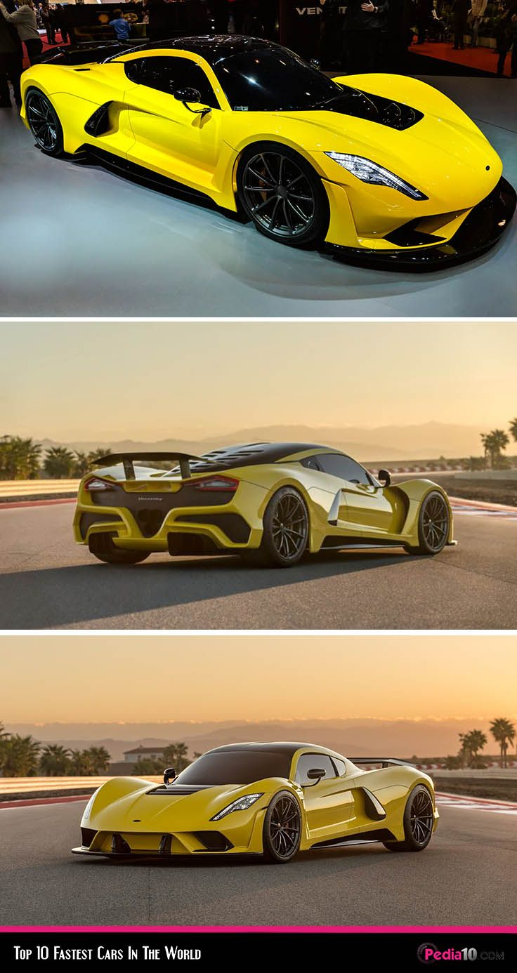 Top 10 Fastest Cars In The World 2020 I Pedia 10 Updated In 2020 Fast Cars Car In The World Top 10 Fastest Cars