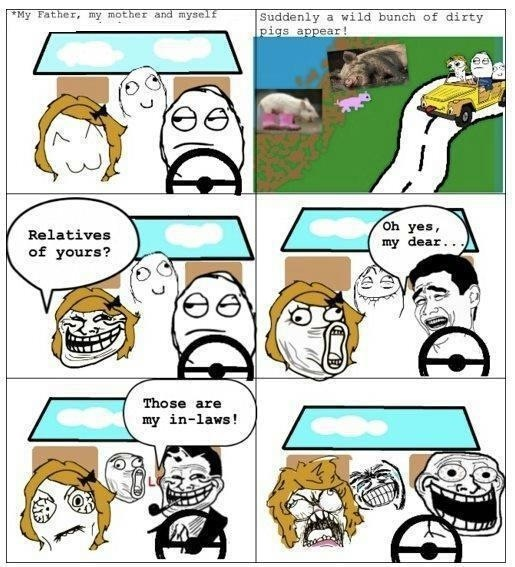 Troll Faces Text