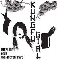 """""""While we'll agree with Ku Fu Girl wine-maker Charles Smith that both Riesling and girls kick ass, the reason we love this wine actually has much more to do with another aspect of Kung Fu: balance."""" - thanks @Becky Leroux for this one"""