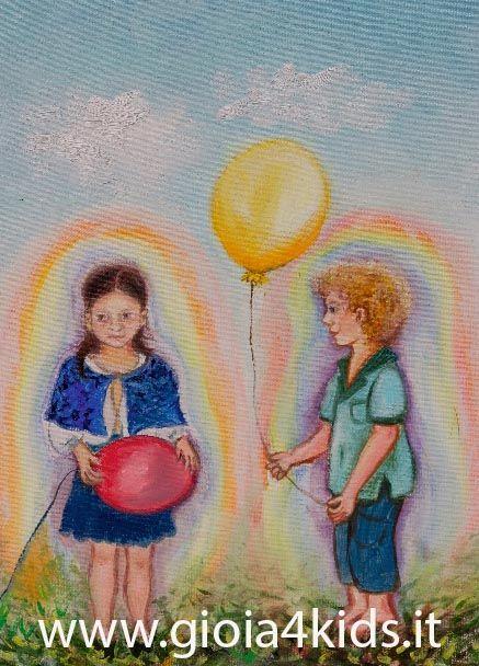 """Immagine tratta dal libro """"Gioìa e i bambini della Nuova Era"""", come riconoscere i doni spirituali del tuo bambino"""