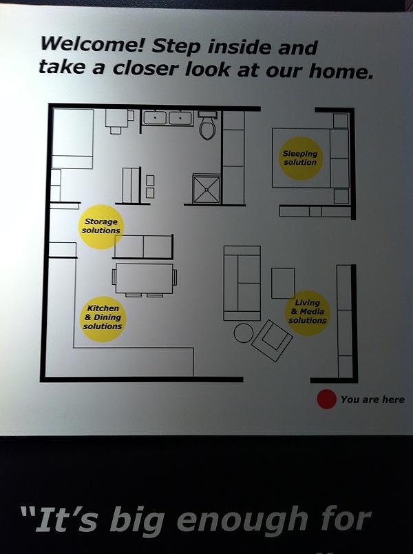 The Dagupion Ohana: Living Small. IKEA small house plan  small space floor  plan