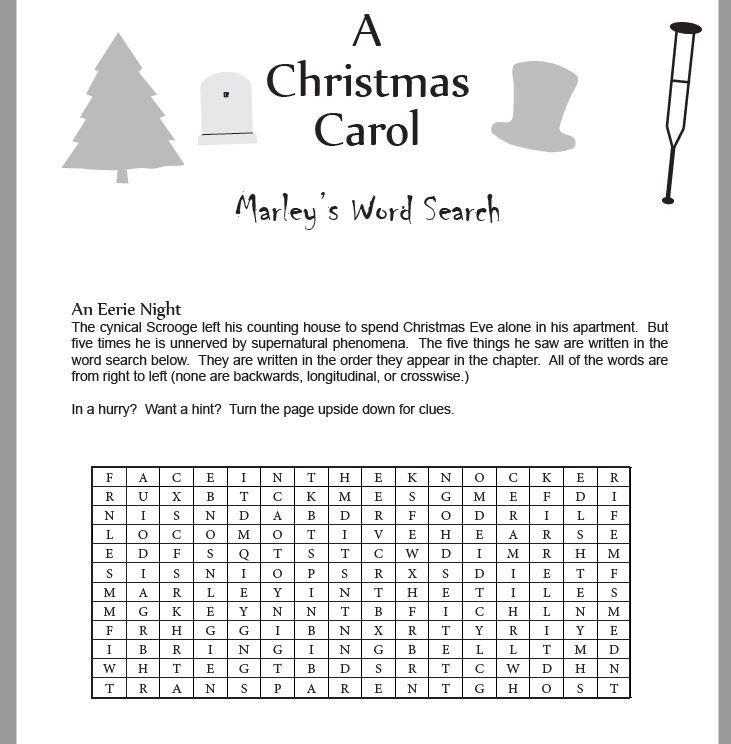 Christmas Carol Lesson Plans & Summary   Printable lesson plans, Elementary physical education ...