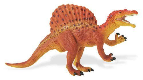 Safari Great Dinosaurs Spinosaurus Toy Figure by Safari Ltd.. $6.44. Each figure includes an descriptive hangtag in 5 languages. We take pride in the quality, innovation and design that have characterized our products for over 3 generations. All our products are phthalate-free and thoroughly safety tested to safeguard your child's health. From the Manufacturer                Play is the essential joy of childhood. Through play children learn about themselves, their e...