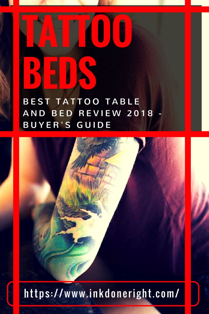 Best Tattoo Table and Bed Review 2018 - Buyer's Guide   InkDoneRight  The 2018 Buyer's Guide to find the best Tattoo Table and Bed. When you have to seat clients in the same spot for hours, you don't want them feeling…