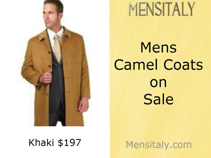 Camel Coats are designed keeping in mind the tastes and choices of the new age men. At Mensitaly you can find cleaner lines, stylish cuts and proper fittings. For More details visit https://www.mensitaly.com