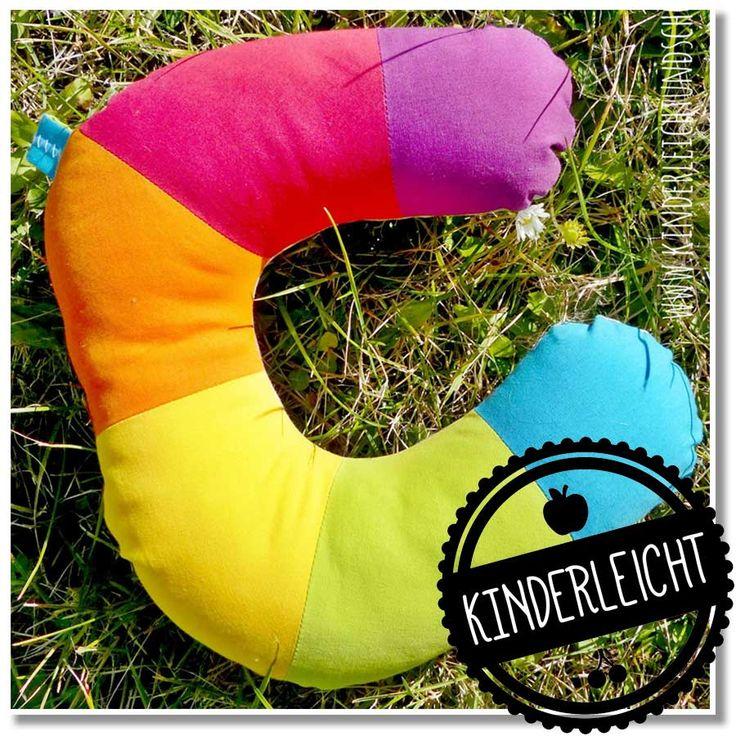 KINDERleicht und schön | Nähen mit Cherrygrön: SommerSause: Regenbogen Nackenhörnchen