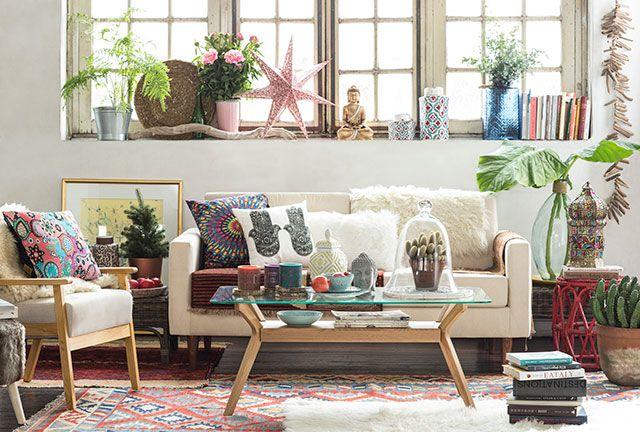 sofá nórdico homy estilo boho