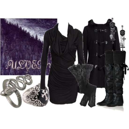 goth Polyvore Outfits  | Grown-Up Goth Wearables: Outfits / Ulver, created by ...
