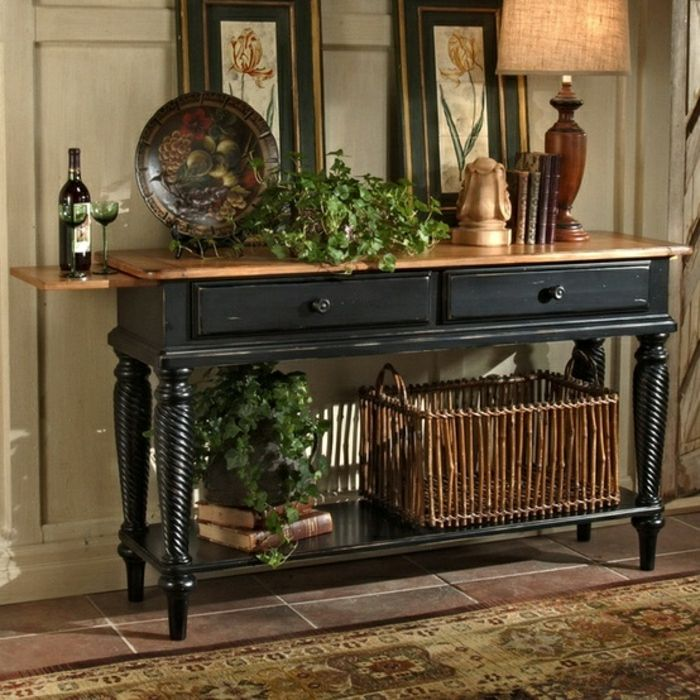 1000 id es sur le th me meubles en bois fonc sur pinterest meubles shabby chic meubles et - Meuble bois fonce ...