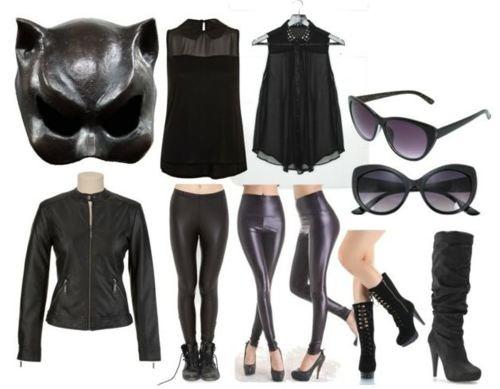 die besten 25 catwoman outfit ideen auf pinterest anne hathaway katzenfrau dark knight und. Black Bedroom Furniture Sets. Home Design Ideas