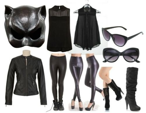 Catwoman Outfit inspired by Anne Hathaway