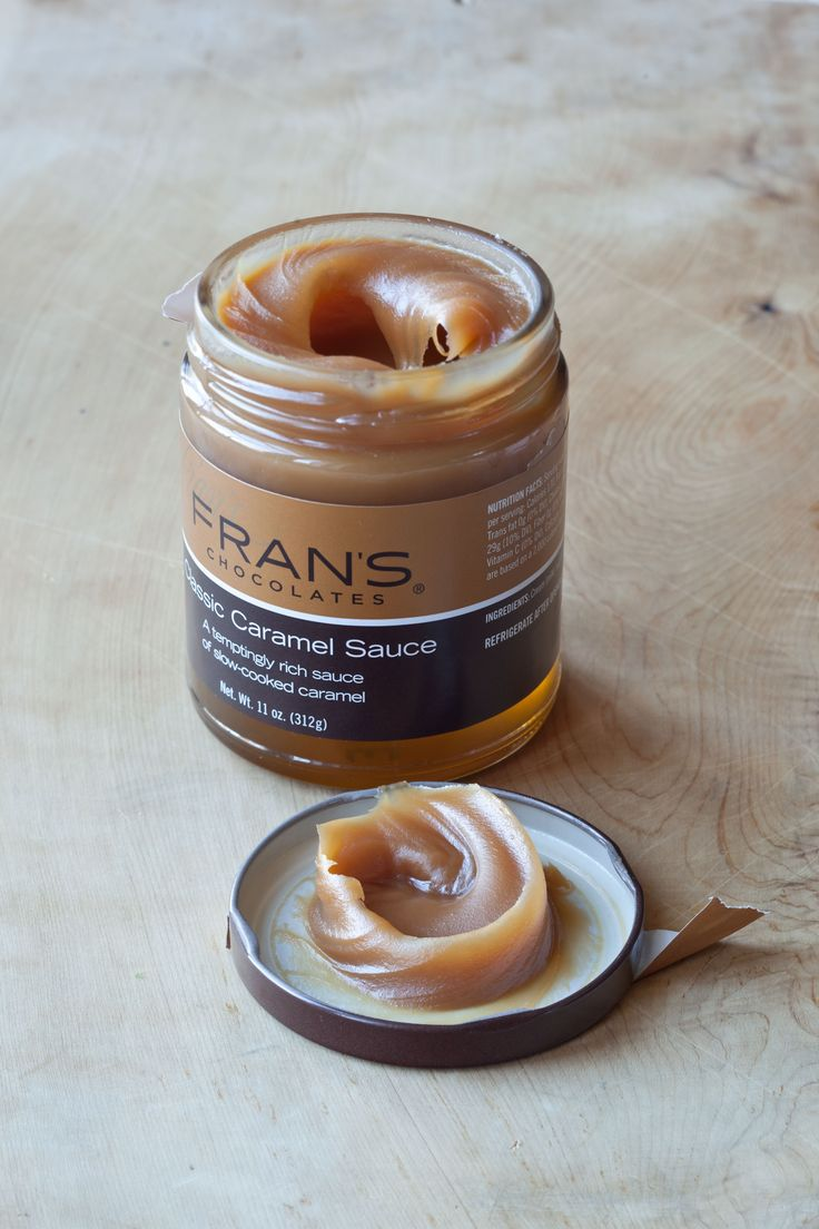 Fran's Classic Caramel Sauce- the secret to my recipe for Salted Caramel Brownies!