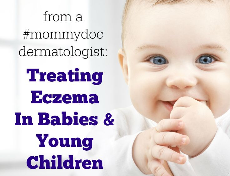 As a dermatologist that has treated eczema in my young patients and my own children, I have an entire treatment plan that avoids prescription medications and focuses on healing the skin.  Treating eczema in babies and young children requires an understanding of the condition and vigilant care of the skin.  Check out this blog post to learn about my treatment plan for eczema.