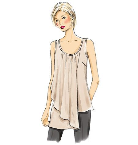 Misses' Top, V9005 http://voguepatterns.mccall.com/v9005-products-48403.php?page_id=174