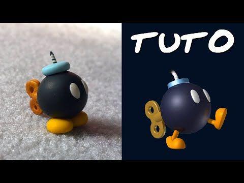 TUTO FIMO | Bob Omb (de Mario) ◊ FACILE ◊ - YouTube