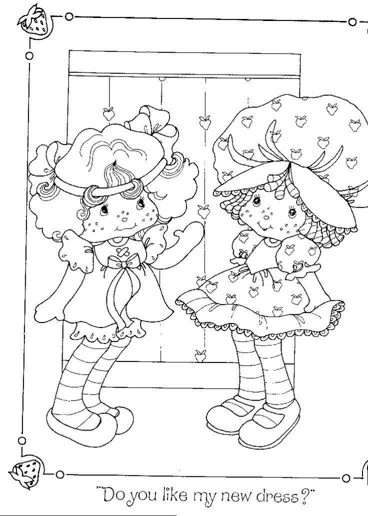 Strawberry shortcake birthday coloring pages for Ramona quimby coloring pages
