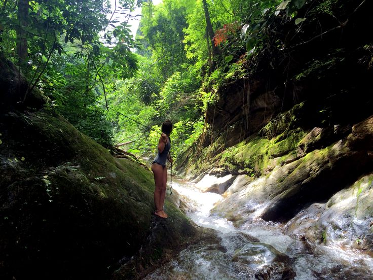 Hidden waterfalls deep in the jungle - Pai - Thailand Nature, water, lands, discovery, adventure