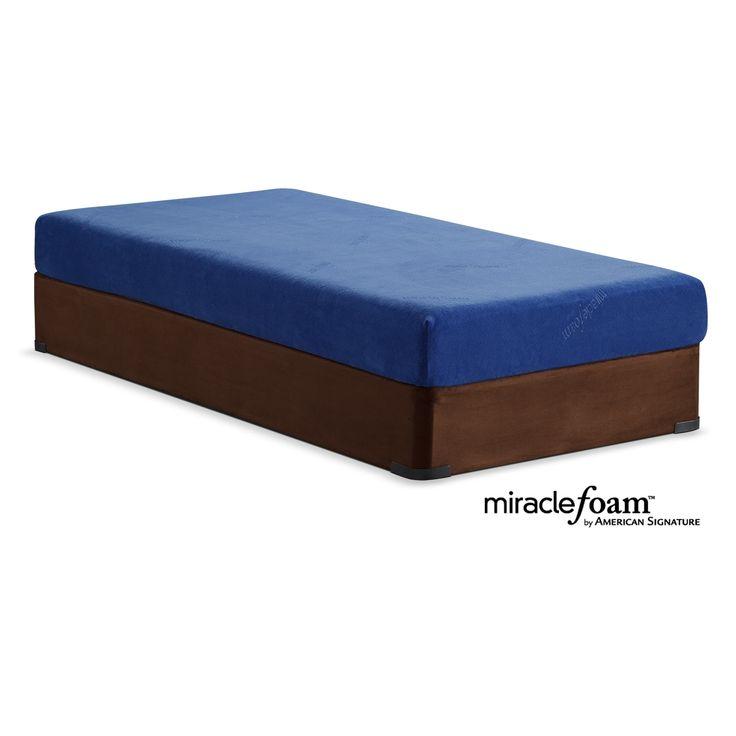 Renew Blue Full Mattress And Foundation Set