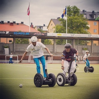 From World Cup of Segway Polo Stockholm 2012 -Woz Cup