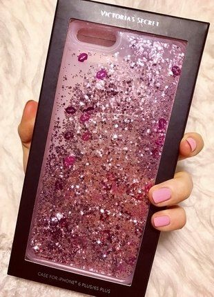 Kupuj mé předměty na #vinted http://www.vinted.cz/doplnky/doplnky-k-elektronice/14121576-novy-flitrovy-kryt-victorias-secret-na-iphone-6-plus