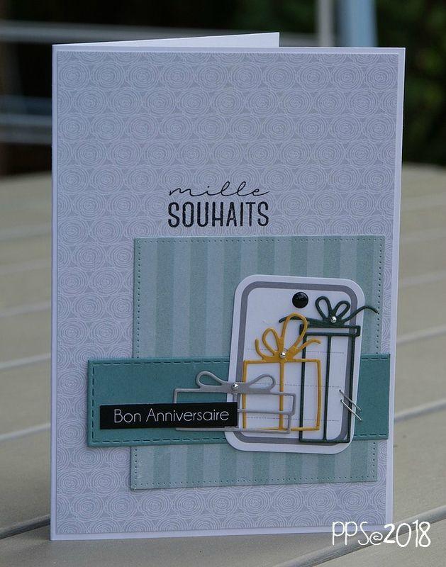Mille souhaits   LiliScrap | Carte anniversaire, Carte de voeux