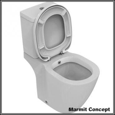 Wc cu bideu incorporat Connect, obiecte sanitare, cazi de baie, cazi compozit, cazi otel, cazi acril, cabine de dus, lavoare baie, lavoare compozit, chiuvete baie, mobilier baie, chiuvete bucatarie, vase wc, wc suspendat, bideuri suspendate, baterii baie, robineti baie, baterii bucatarie