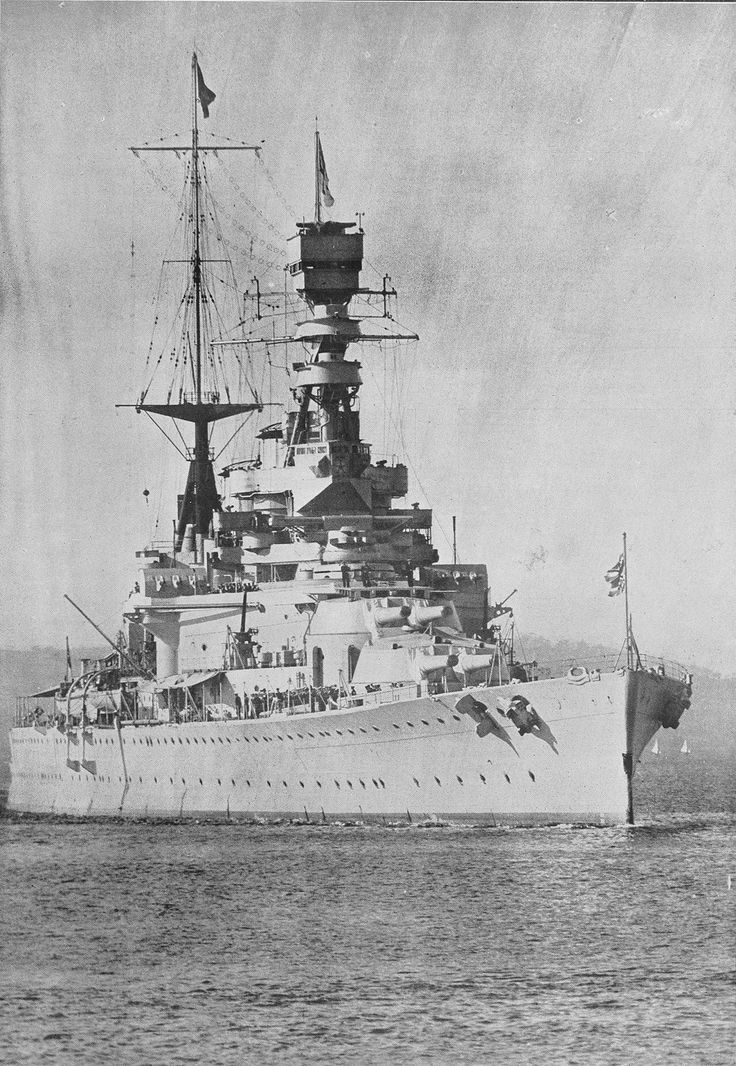 HMS Hood sunk by KMS Bismarck on May 24, 1941 at the Battle of the Denmark Strait. 3 survivors.