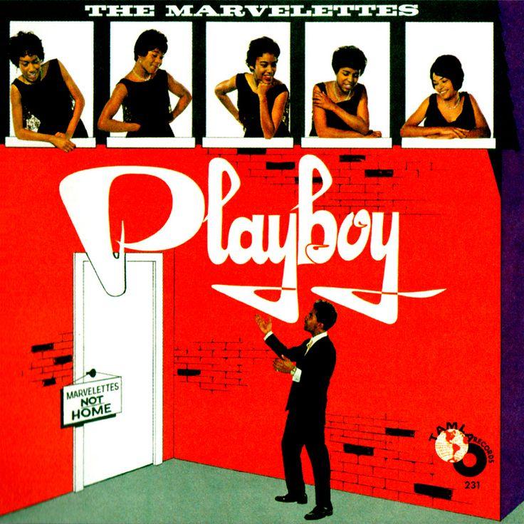 """The Marvelettes """"Playboy"""" (1962) LP"""