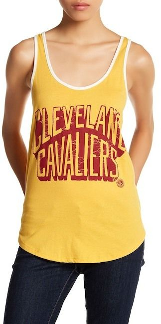 Junk Food Clothing Cleveland Cavaliers Graphic Tank