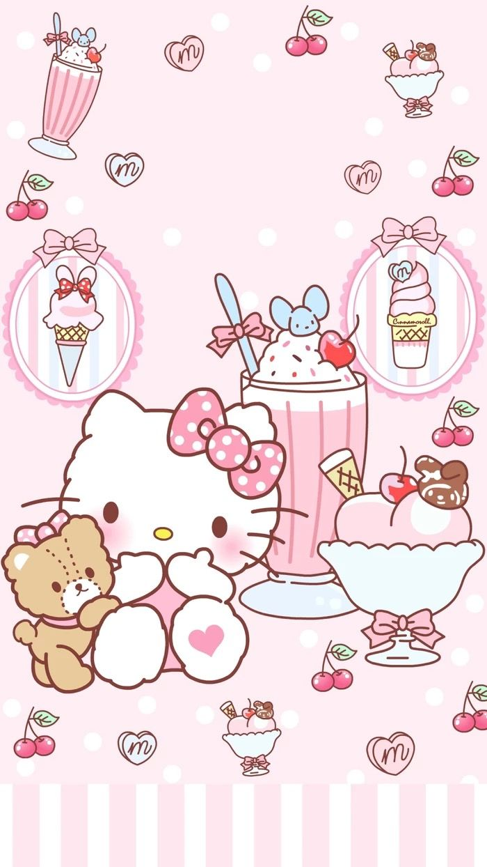 Pin By Allison Haskins On Wallpaper Hello Kitty Hello Kitty Pictures Hello Kitty Drawing Hello Kitty Backgrounds