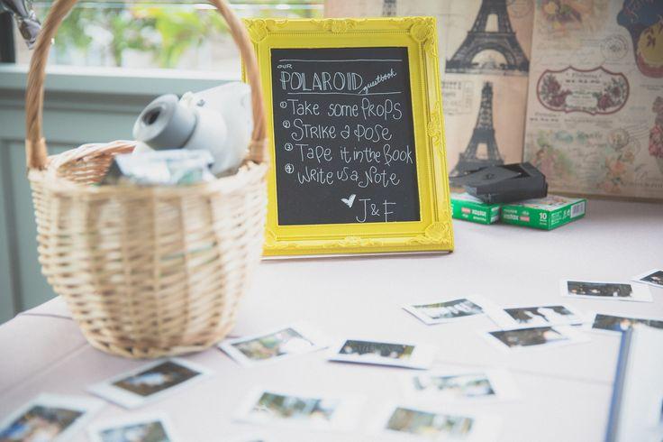 polaroid album for the guests #signs #polaroidalbum #wedding
