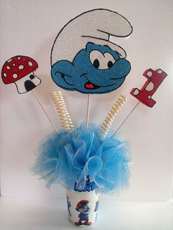 the smurfs  centerpieces and the o u0026 39 jays on pinterest