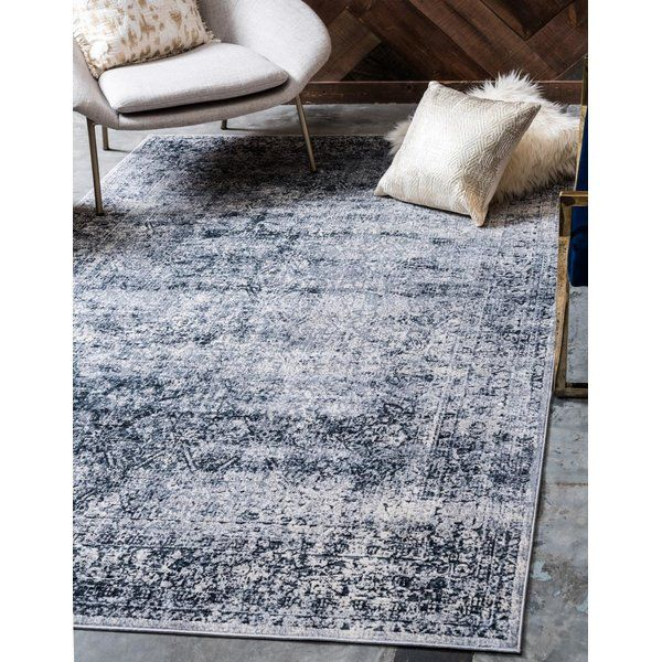Abbeville Oriental Navy Blue Area Rug With Images Farmhouse