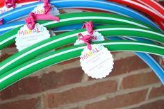 Hawaiian Luau Birthday Party Ideas from Lifesong.com as seen on AmysPartyIdeas.com