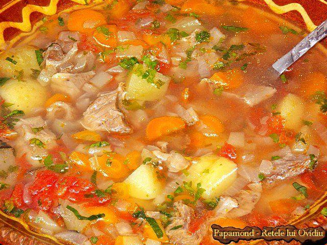 Ciorba de vacuta | Papamond beef soup