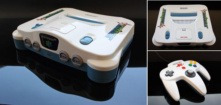 Custom starfox themed Nintendo 64 by ~Zoki64 on deviantART