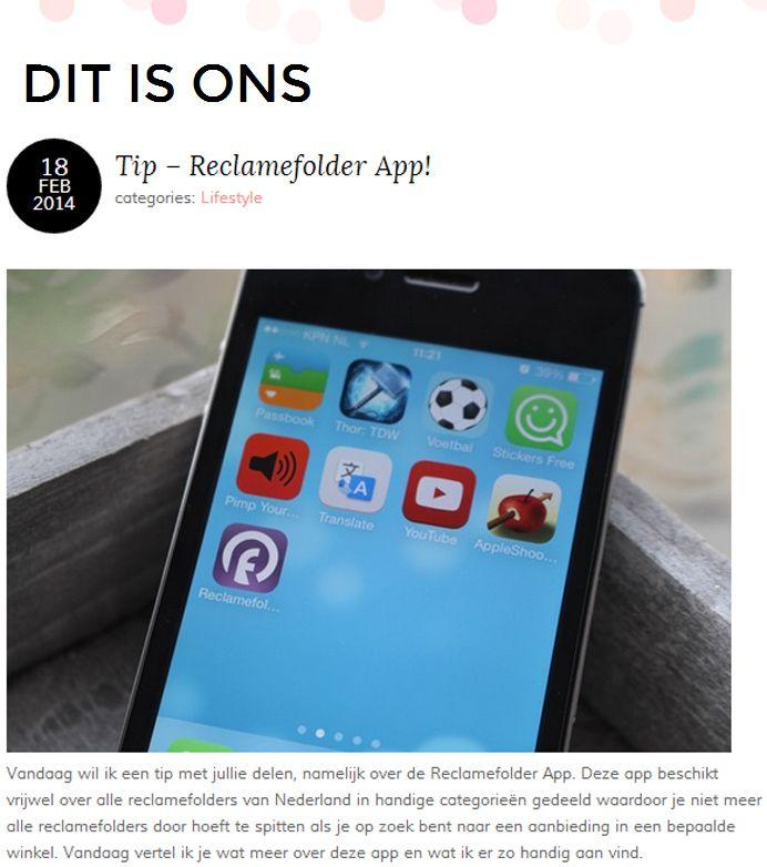 Bekijk het hele artikel op: http://ditisons.nl/2014/02/18/tip-reclamefolder-app/#more-21111