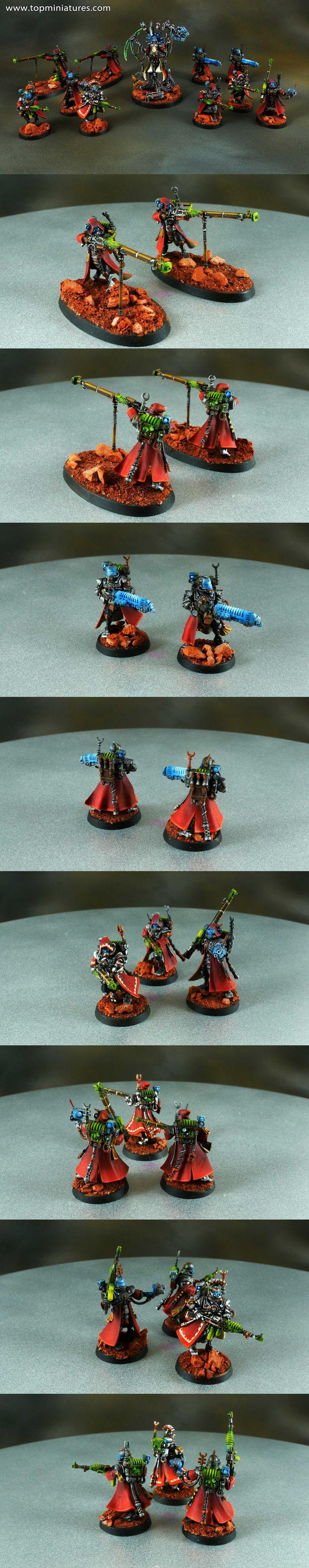 Warhammer 40k Adeptus Mechanicus Skitarii Rangers