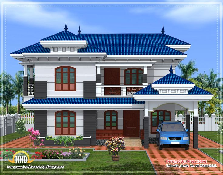 Beautiful dream home cool hd for Beautiful model house