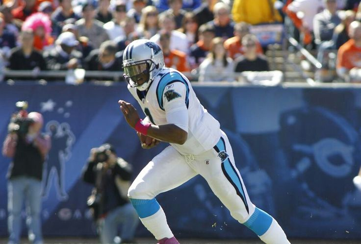 2011 Cam Newton of the Carolina Panthers broke many records His rookie year!