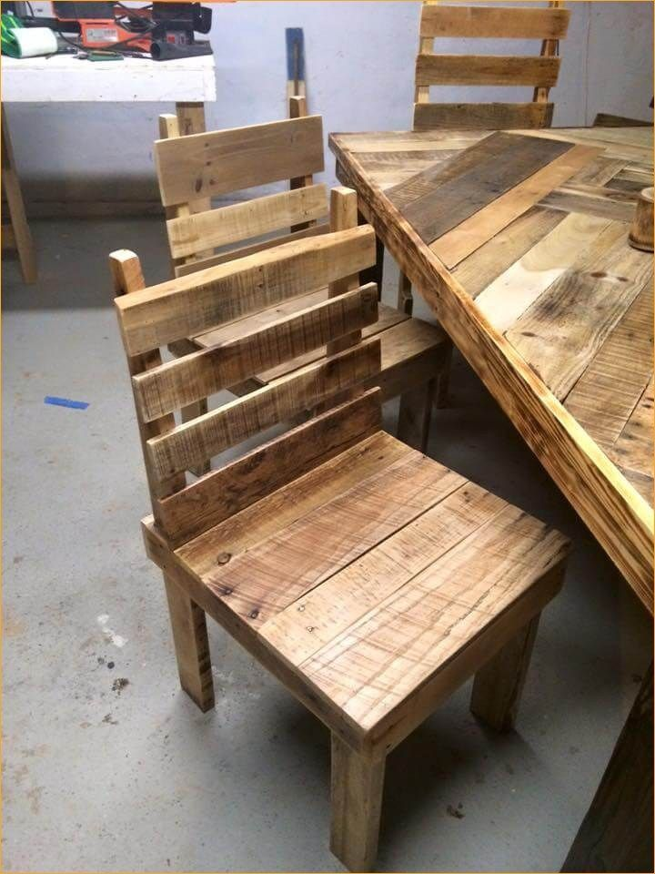 42 Creative Diy Pallet Kitchen Table Ideas Pallet Diy Diy