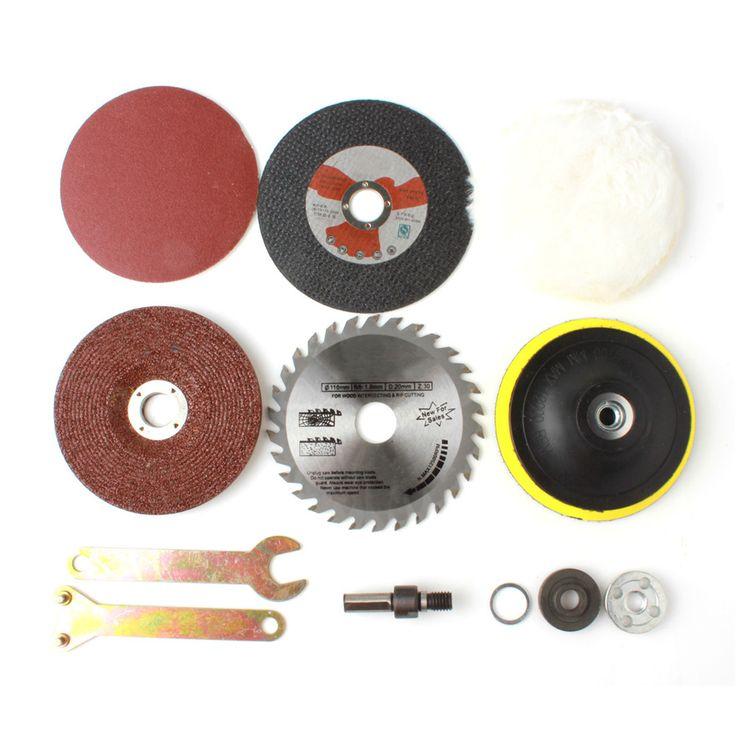 <b>8 Pcs</b>/Set Woodworking Kit Metal Conversion Shank Accessories for ...