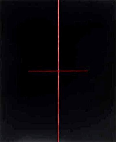 Red on Black, 1968 - Ralph Hotere