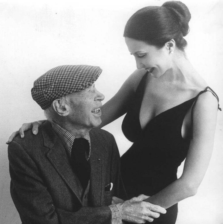 "Anaïs Nin with Henry Miller   ""Age does not protect you from love. But love, to some extent, protects you from age."""