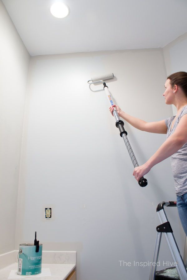 The Quickest Way To Update A Bathroom Clean Pinterest Painting And Wall